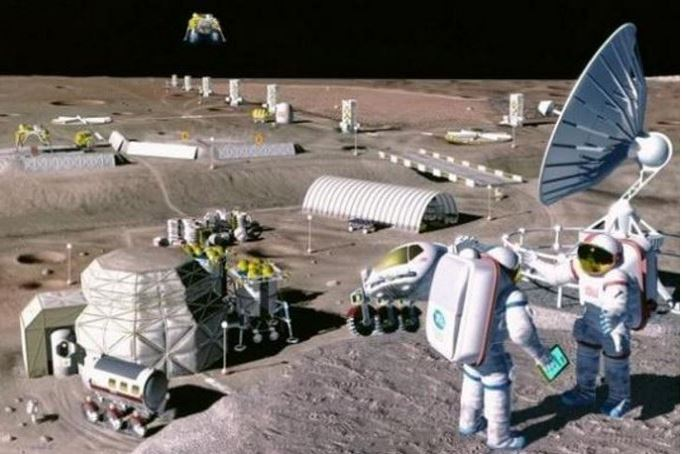 Russian Space Programme Moon colonization