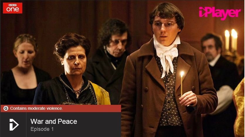 First episode of War and Peace on BBC iPlayer