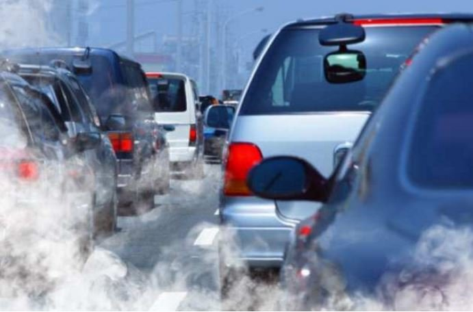 Pollution coming from vehicles