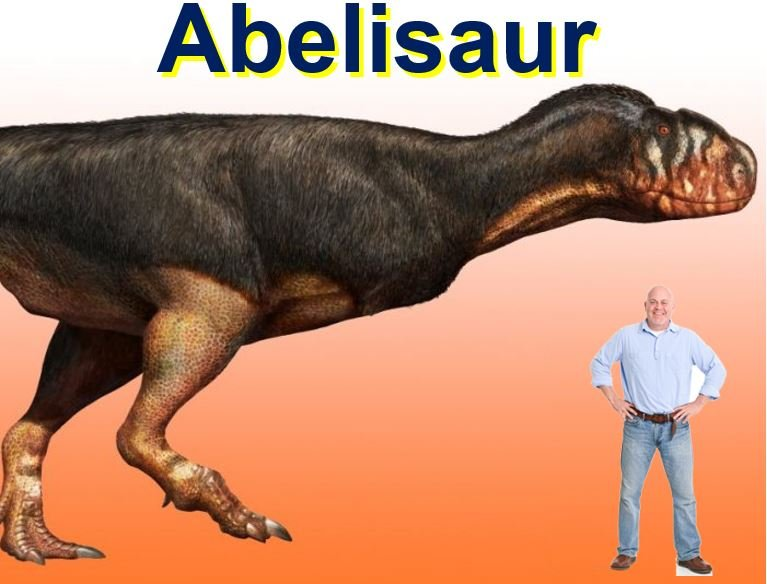 Abelisaur was a huge carnivore