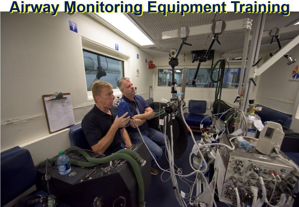 Airway monitoring equipment training