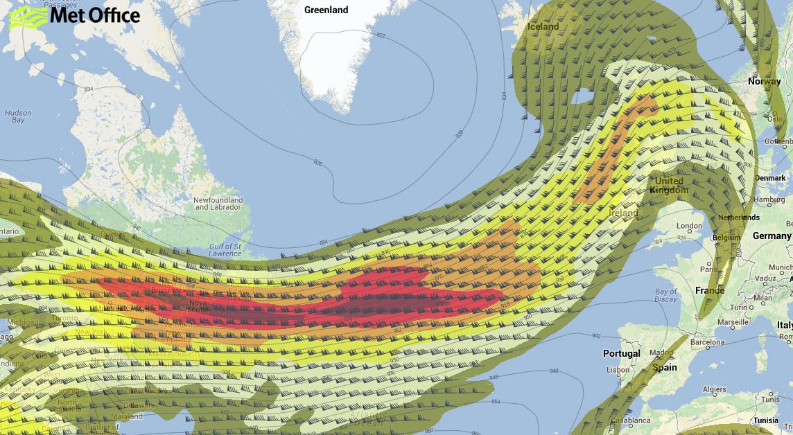 North Atlantic Jetstream