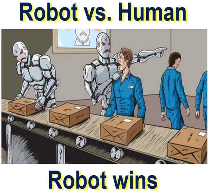 Smart robots cause mega unemployment globally