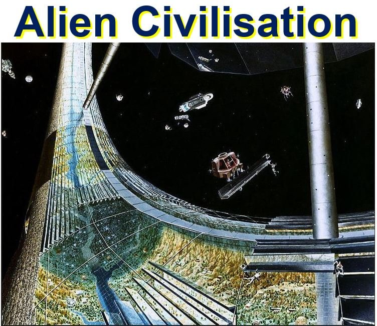 Alien civilisation older than us