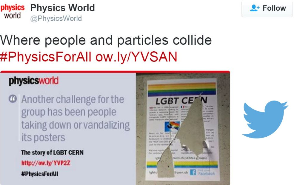 Homophobia at CERN