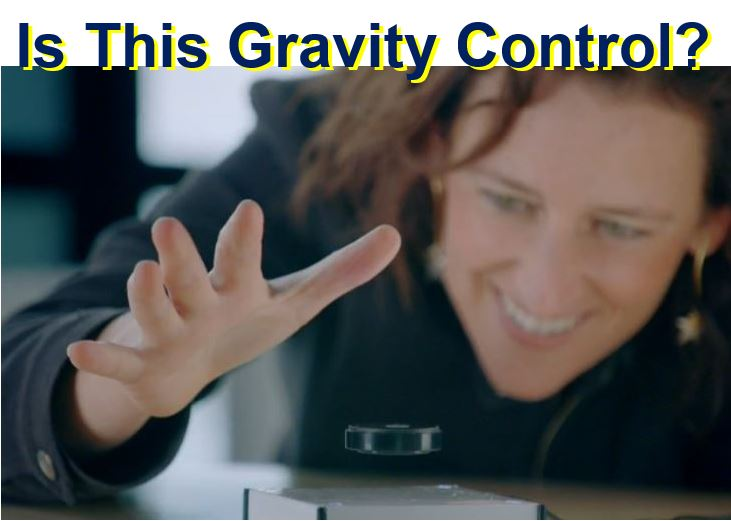 Is this gravity control