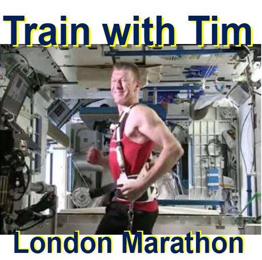 Join Tim Peake in London Marathon
