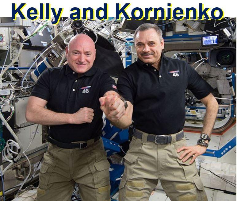 Kelly and Kornienko