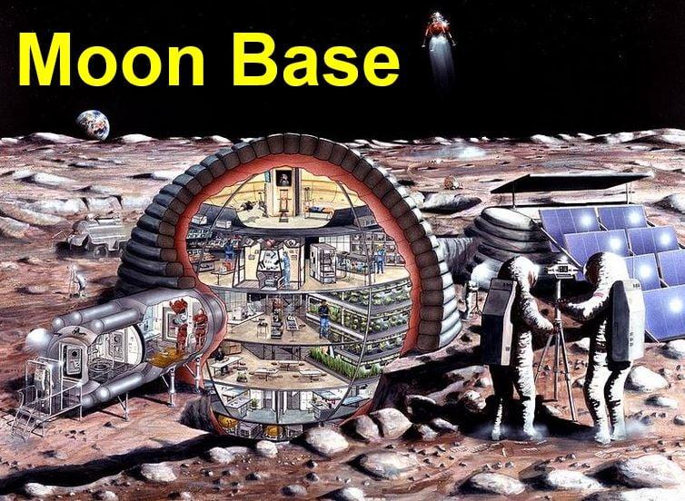 Moon base