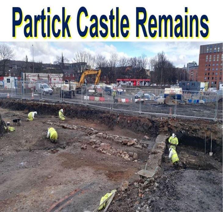 Partick Castle Remains