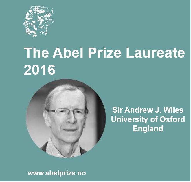 Sir Andrew Wiles wins Abel Prize