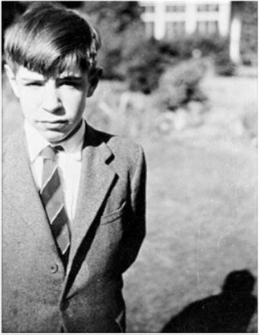 Stephen Hawking the schoolboy