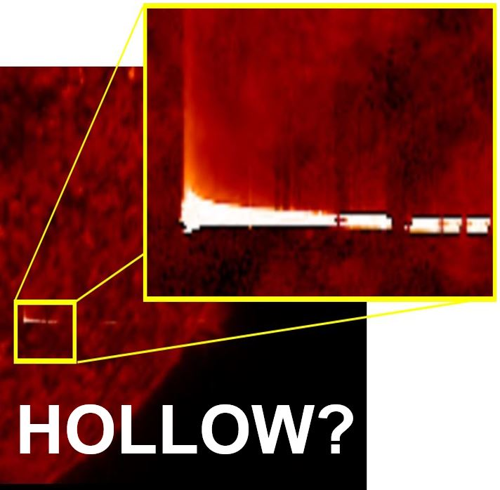 The Sun is hollow says UFO seeker