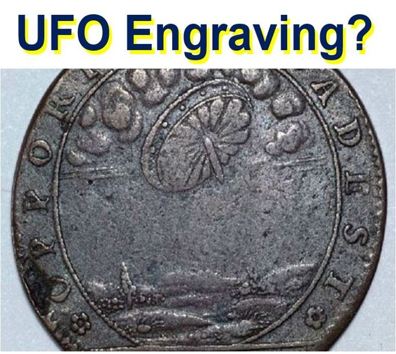 Ancient coin proof aliens been here before says UFO seeker