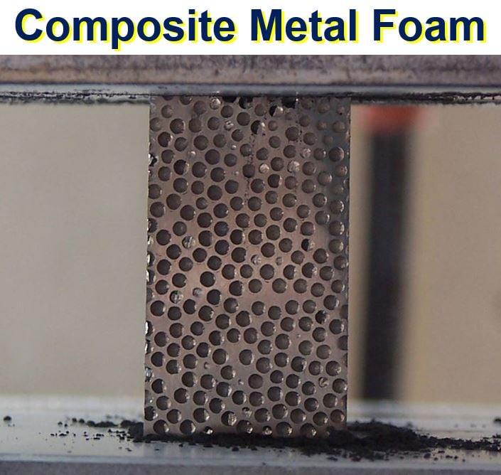 Composite metal foam