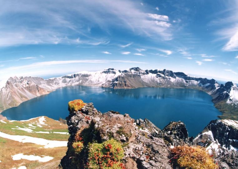 Heaven lake Mount Paektu