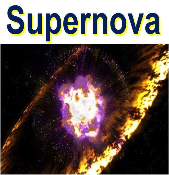 Massive supernova