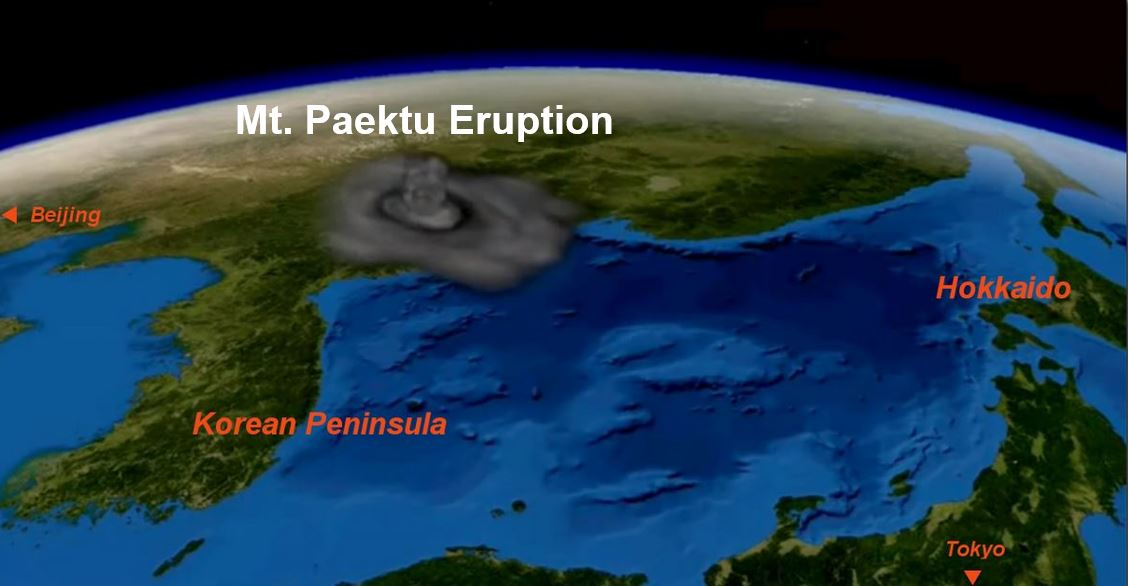 Mount Paektu Eruption