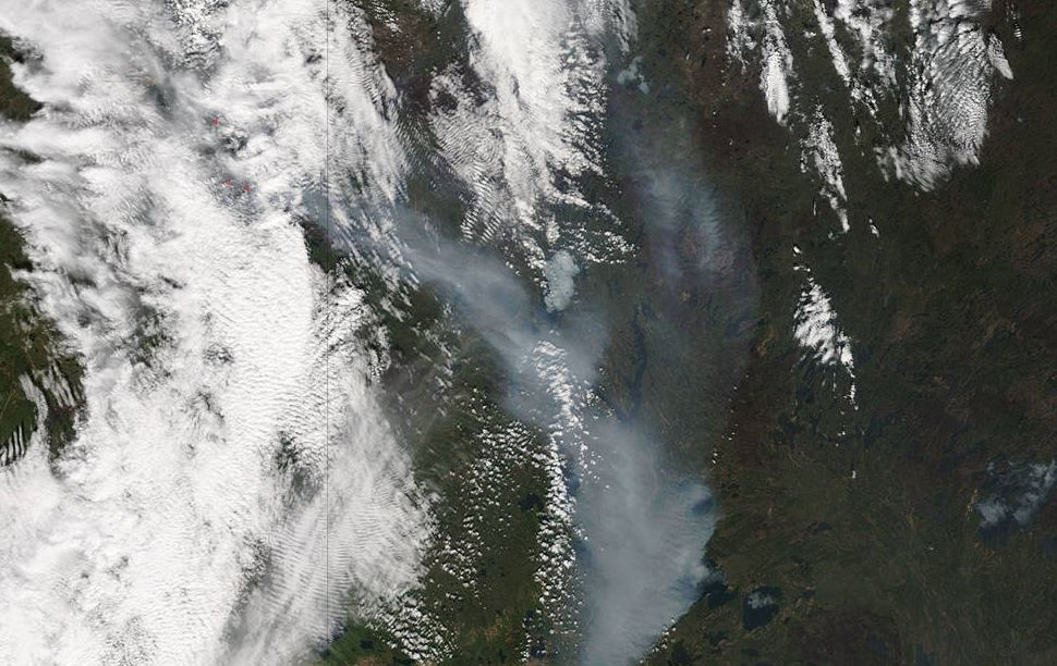 Ft McMurray Fire in Alberta in Canada