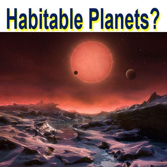 Habitable planets around a dwarf star