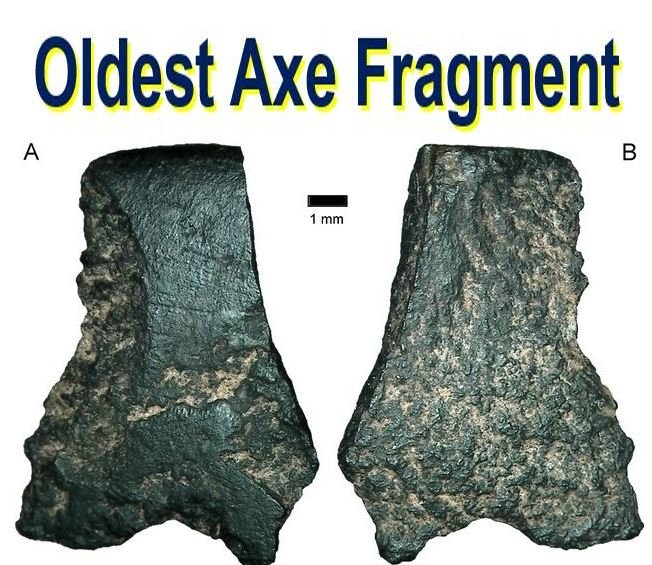 Oldest axe fragment ever discovered