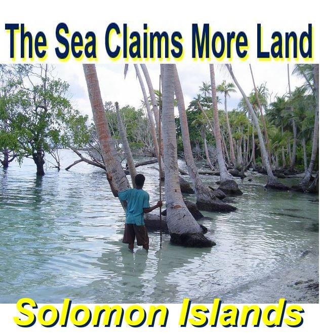 Somon Islands and rising sea level