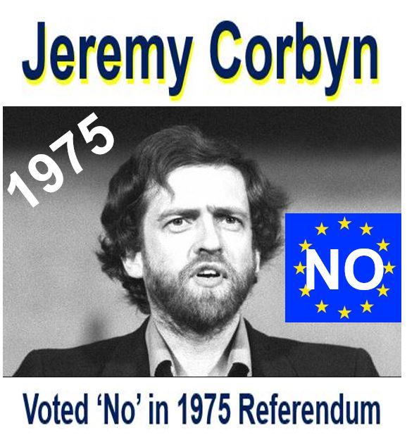 Jeremy Corbyn 1975 referendum