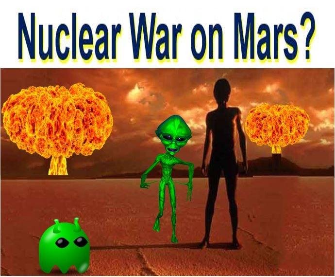 Nuclear War on Mars