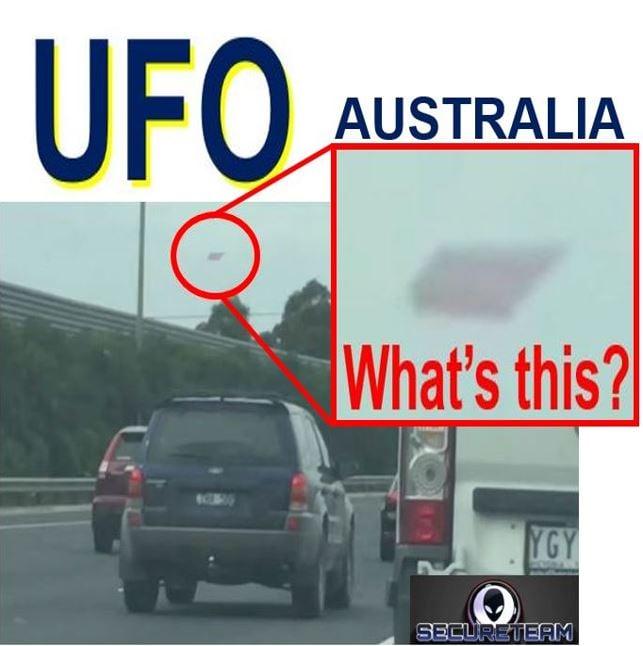 Weird UFO Autralia
