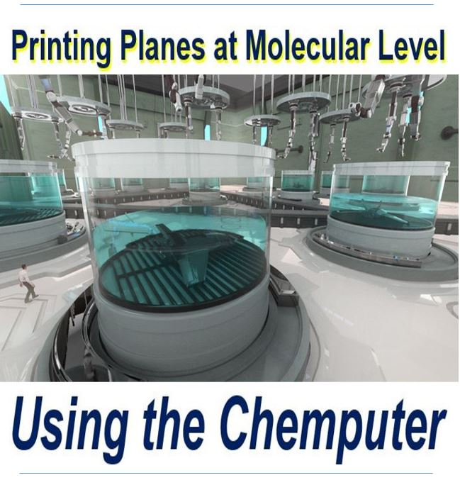 Chemputer printing aircraft at molecular level