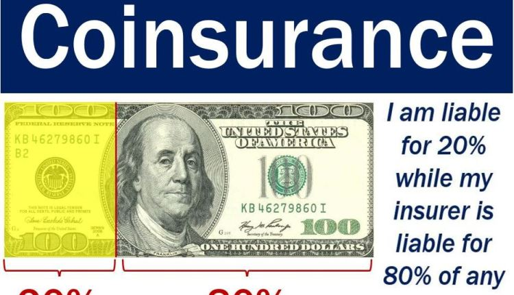 Coinsurance - explanation with image