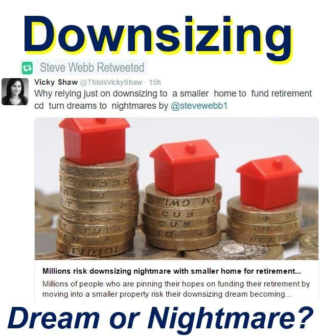 Downsizing risky