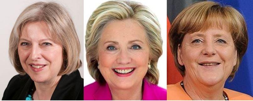 Three female leaders