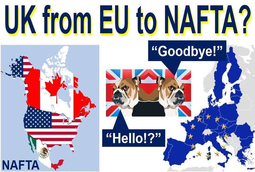 UK from EU to NAFTA