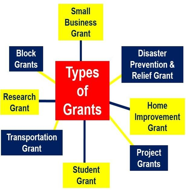 What is a grant types