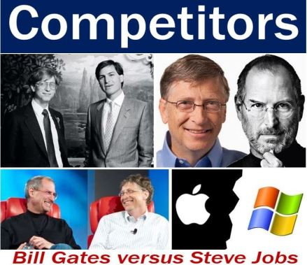 Bill Gates and Steve Jobs - Competitor image