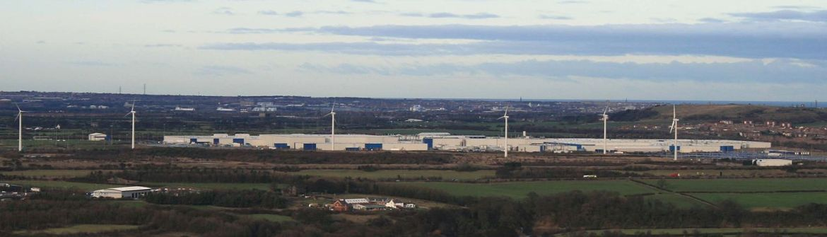 The Nissan plant in Sunderland