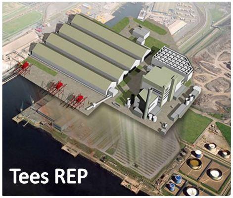 Tees REP biomass power plant