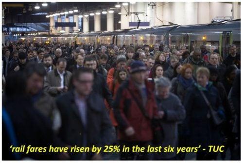 passengers at Euston