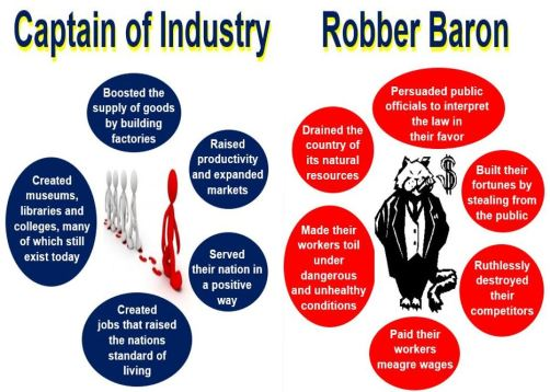 Captain of Industry vs Robber Baron