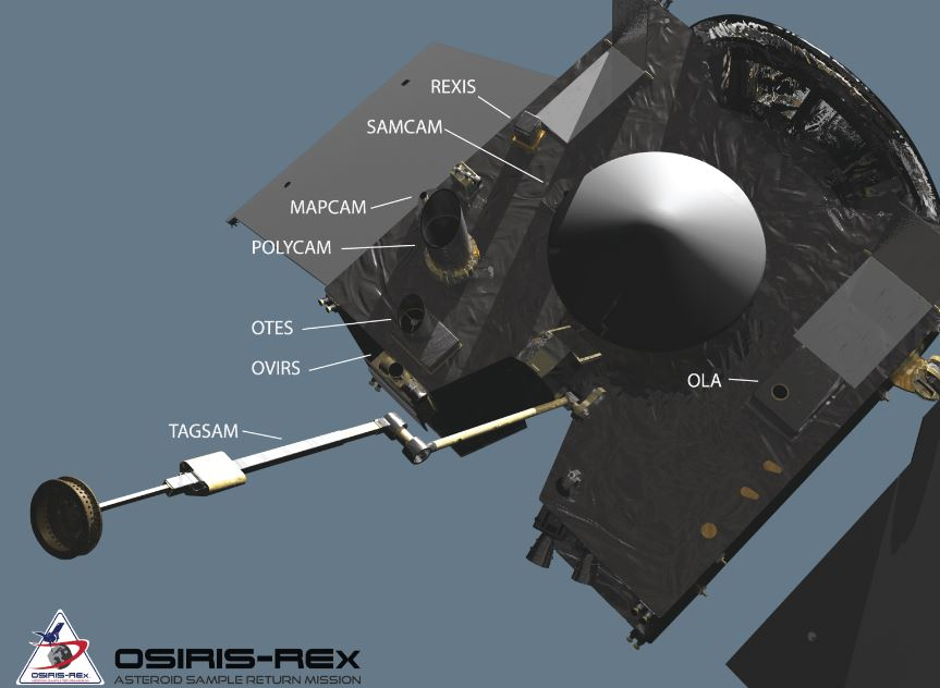 OSIRIS-REx asteroid spacecraft