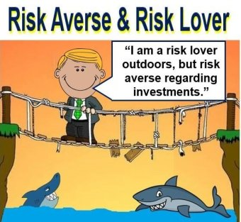Risk averse and risk lover
