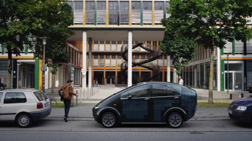 solar electric car Sion