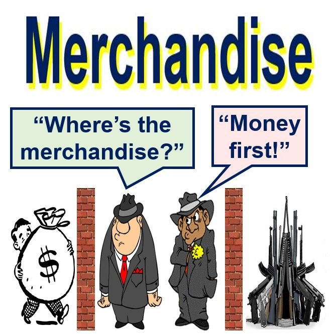 Merchandise illegal weapons deal