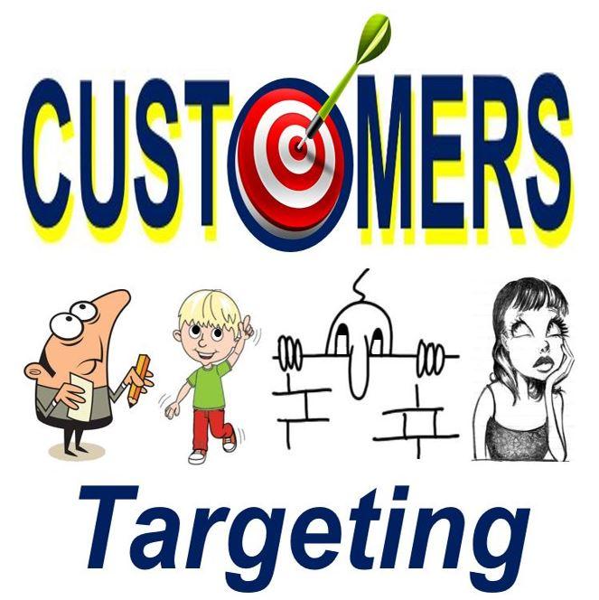 Targeting customers