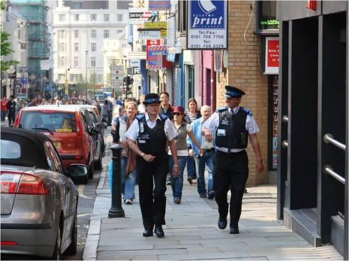 public sector jobs police