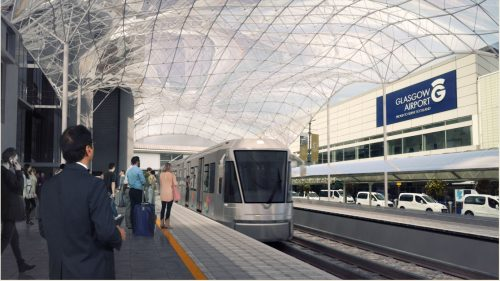 Glasgow airport tram-train link