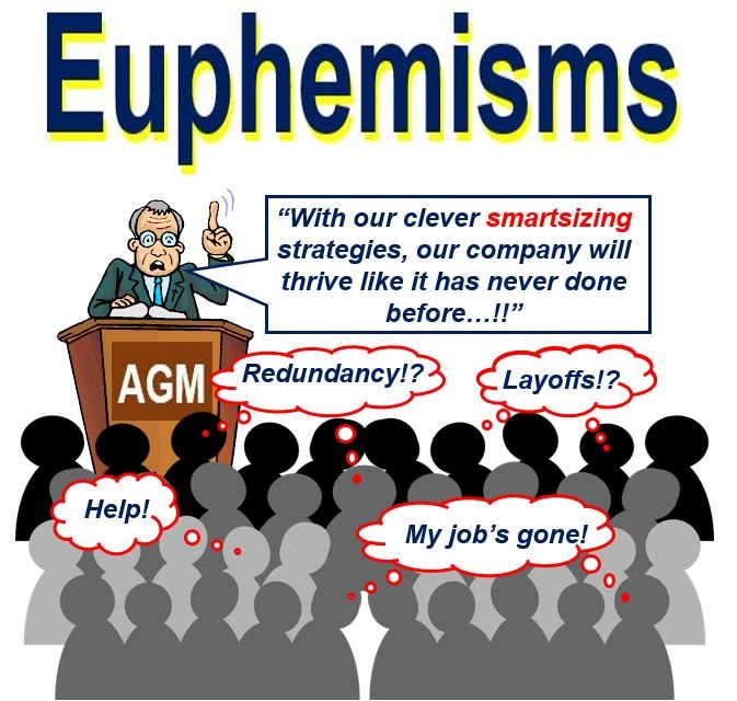 Euphemisms used instead of layoff