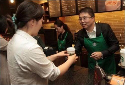 Starbucks' China footprint