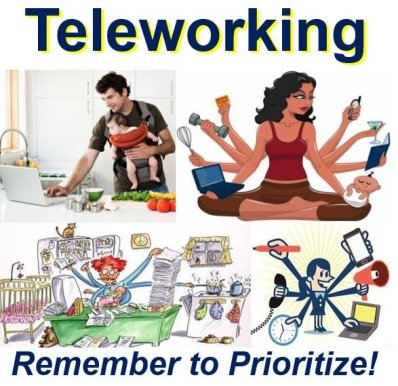 Telecommuting is about prioritizing